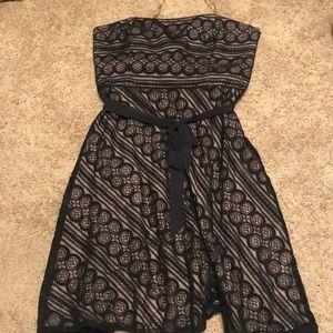 Ann Taylor Lift strapless dress